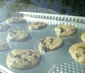 How to Bake Chocolate Chip Dashboard  Cookies: Celebrating a Texas Heatwave Record!