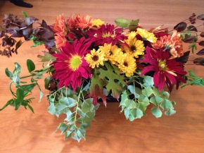 Make Fresh Flower Floral Arrangements for Thanksgiving