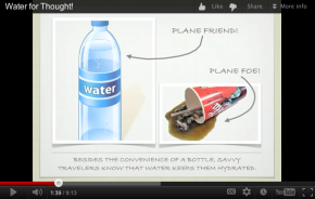 An Aha! Moment: How to Reduce Plastic Water Bottle Waste at Airports