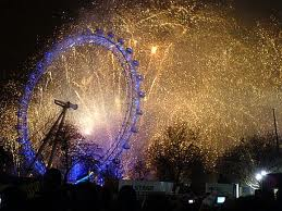New Year's in England