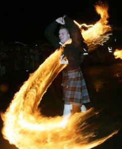 Scotland's Hogmany Bonfires