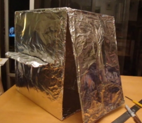 Make Your Own Box Oven forCamping