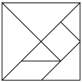 Tangram diagram