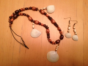 Making Simple Seashell Jewelry