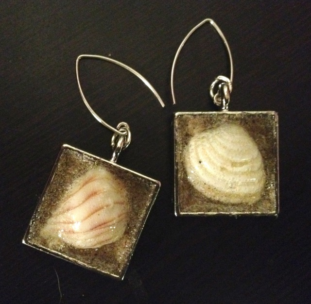 n Synodinos, Big Scout Project, seashells, make your own seashell jewelry, seashell jewelry