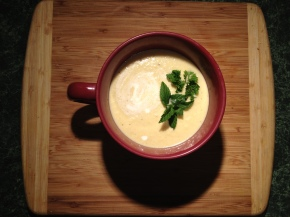 Blender Love: Cold Curry SquashSoup