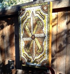 Make a Mosaic with Seeds: Folk Art for (Sorta) Cheap!
