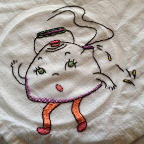 Retro Tea Towels: A Little BasicEmbroidery